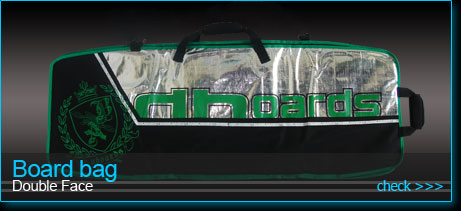 double face board bag for kiteboards