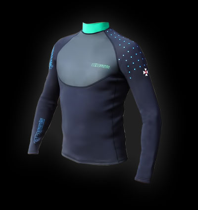 aboards kiteboarding Thermo neoprene top