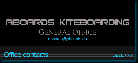 ABoards Kiteboarding office contacts